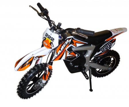 mini moto cross lectrique dirt bike orange. Black Bedroom Furniture Sets. Home Design Ideas