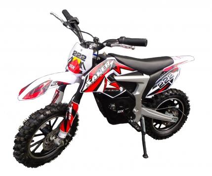 Mini moto cross électrique dirt bike Rouge