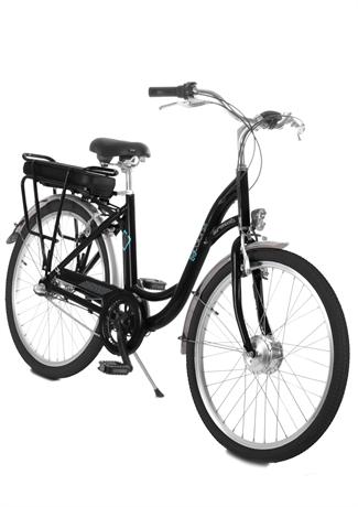 Vélo électrique E-COLORS Noir H40