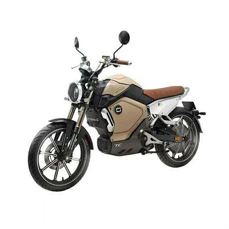Moto électrique - Super Soco TC Beige