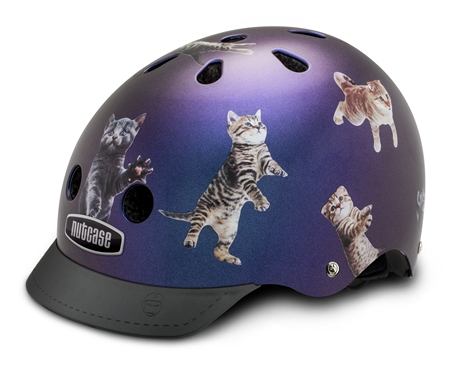 Casque street nutty space cats