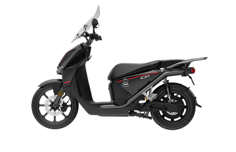 Scooter Electrique - Super Soco CPX Noir 125cc 2batteries
