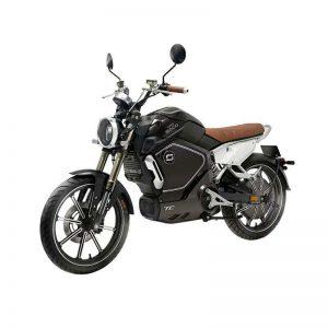 Moto électrique - Super Soco TC Noire
