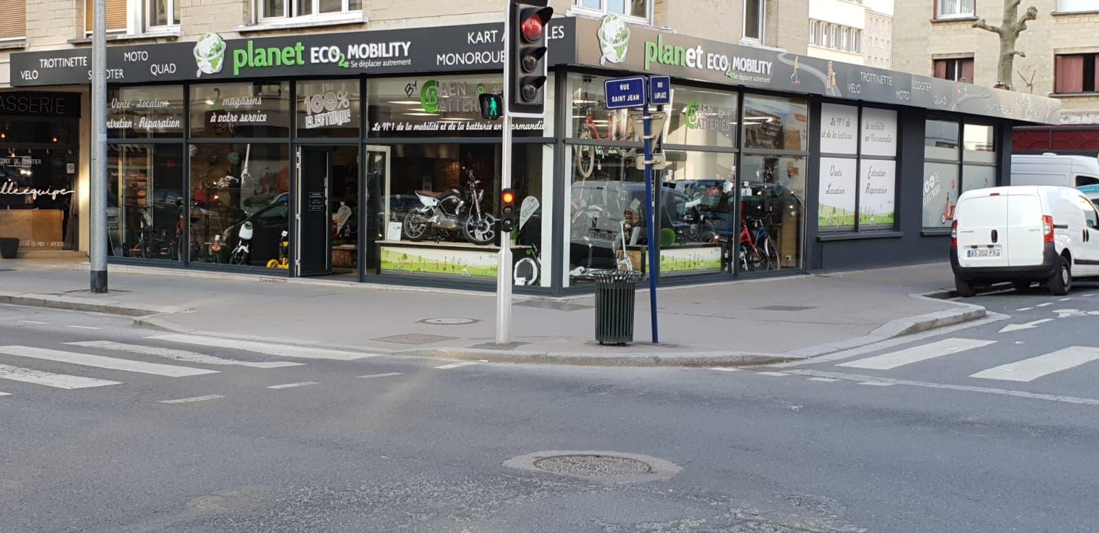 Planet Eco Moibility à Caen