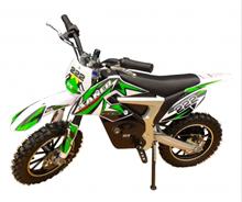 Mini moto cross électrique dirt bike Verte