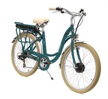 Vélo électrique E-COLORS Vert Canard H46