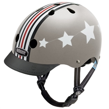 Casque little nutty silver fly