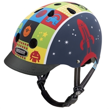 Casque little nutty spaces cadet (matte)