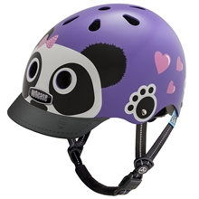 Casque little nutty purple panda