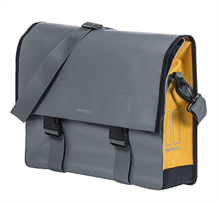 SACOCHE AR LATERALE BASIL URBAN LOAD 17L GRIS ORANGE