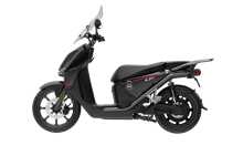 Scooter Electrique - Super Soco CPX Noir 125cc - 2batteries