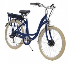 Vélo électrique E-COLORS Bleu Frégate H46