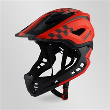 CASQUE CROSS SEDNA ENFANT ROUGE