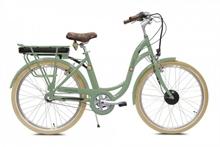 Vélo électrique E-COLORS Vert de Gris H46
